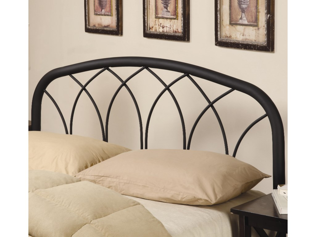 Iron Beds And Headboards Full Queen Modern Black Metal Headboard By Coaster