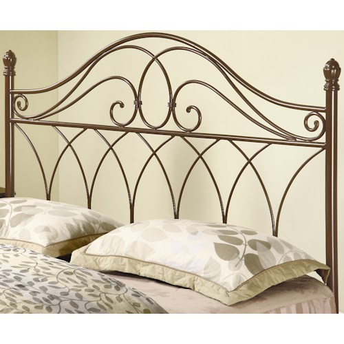 Coaster Iron Beds and Headboards 300186QF Full/Queen Brown Metal ...