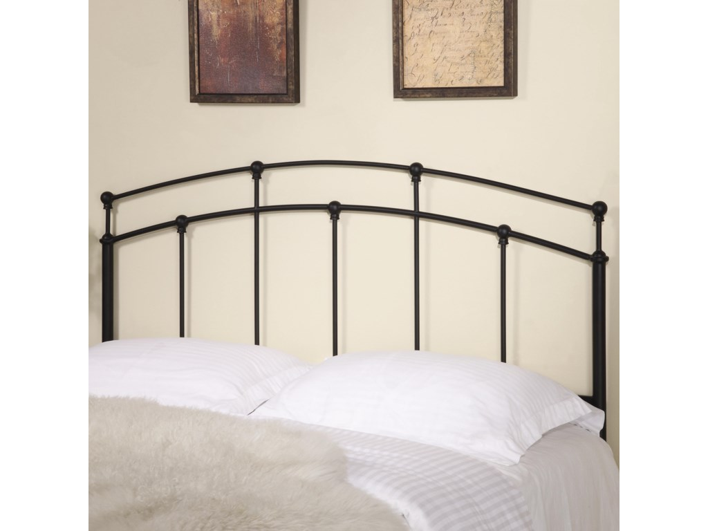 Coaster Iron Beds and Headboards 300190QF Full/Queen Black Metal ...