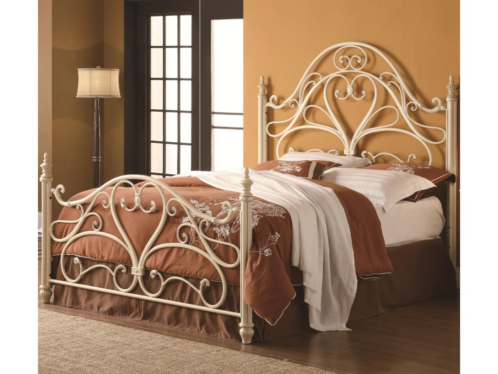 30408370352180 Fine Furniture Iron Beds and HeadboardsQueen Iron Bed- FRAME IS NOT INCLUDED