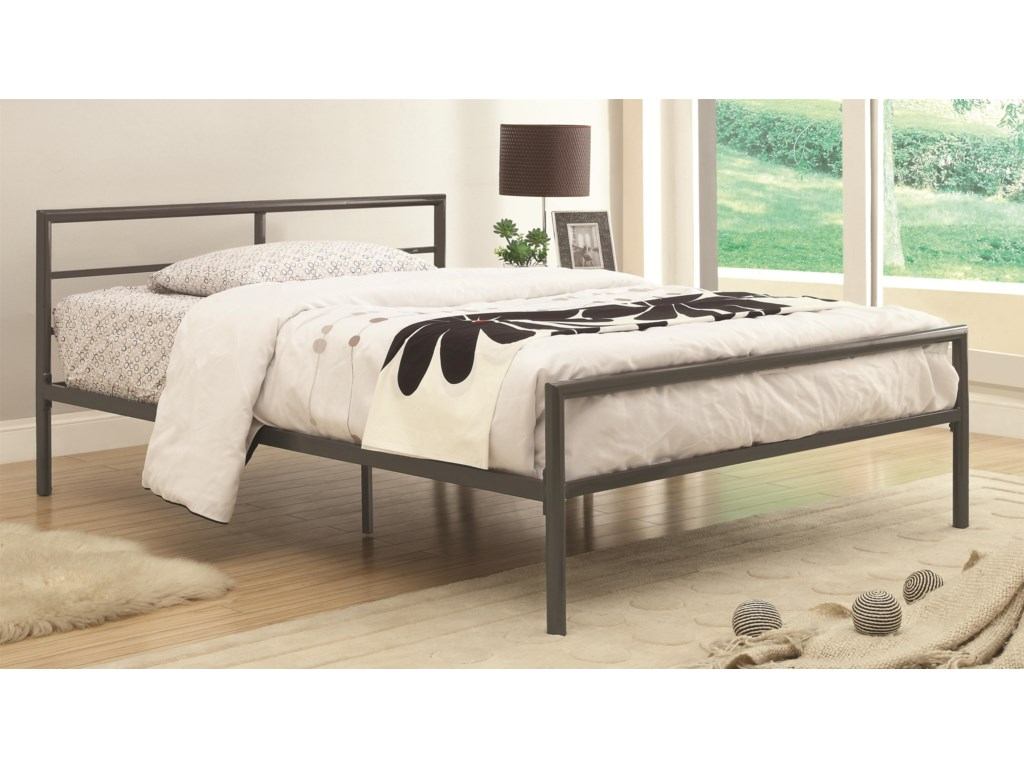 Coaster Iron Beds and HeadboardsTwin Fisher Bed