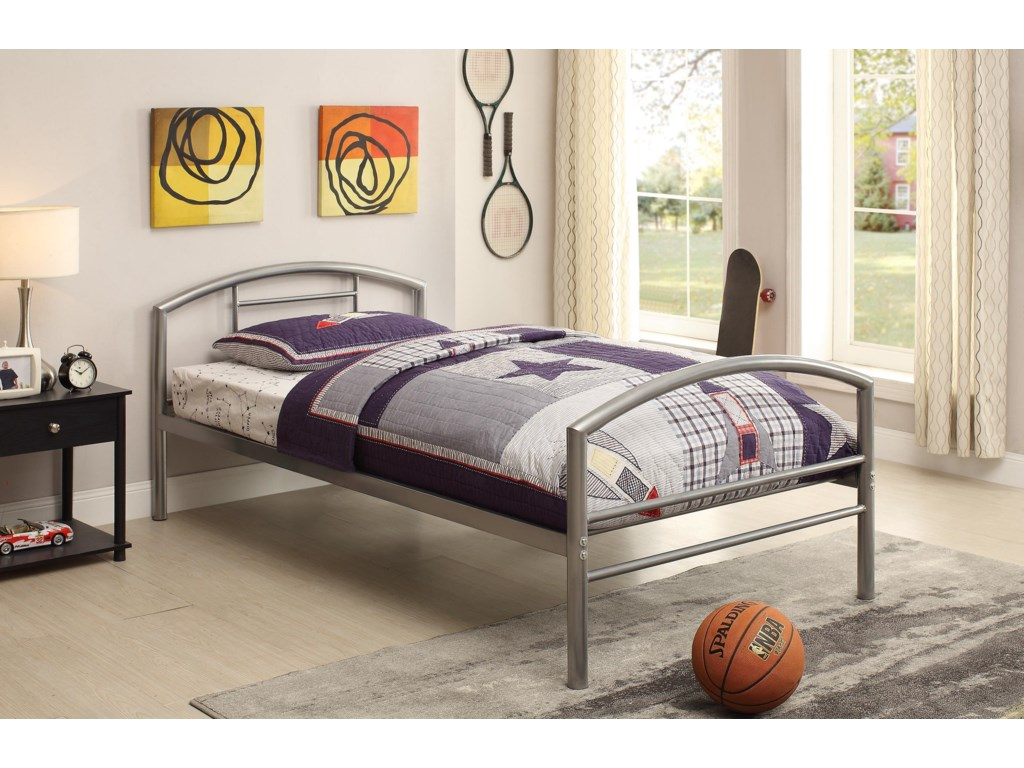 Coaster Iron Beds and HeadboardsTwin Bed