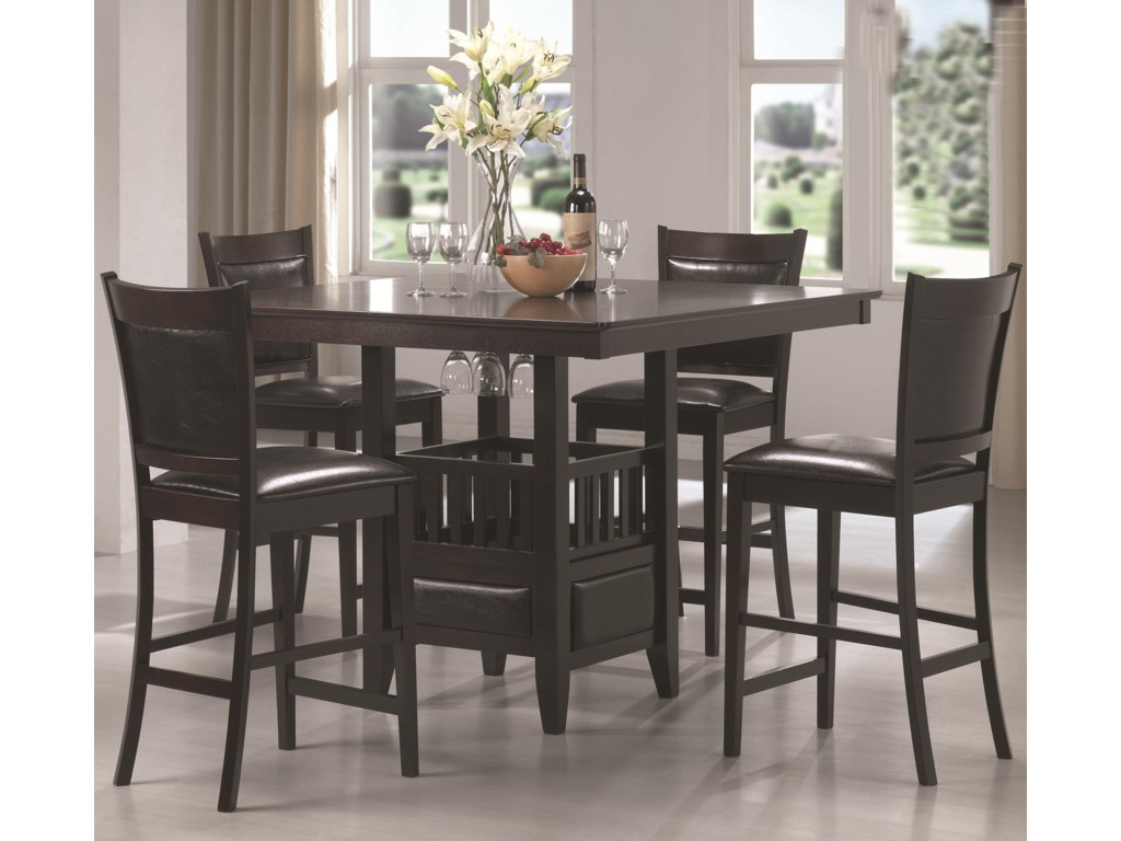 Coaster JadenCounter Height Table & Stool Set