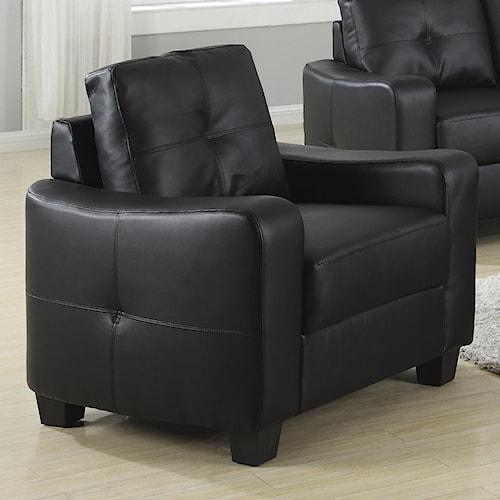 Coaster Jasmine  Bonded Leather Chair