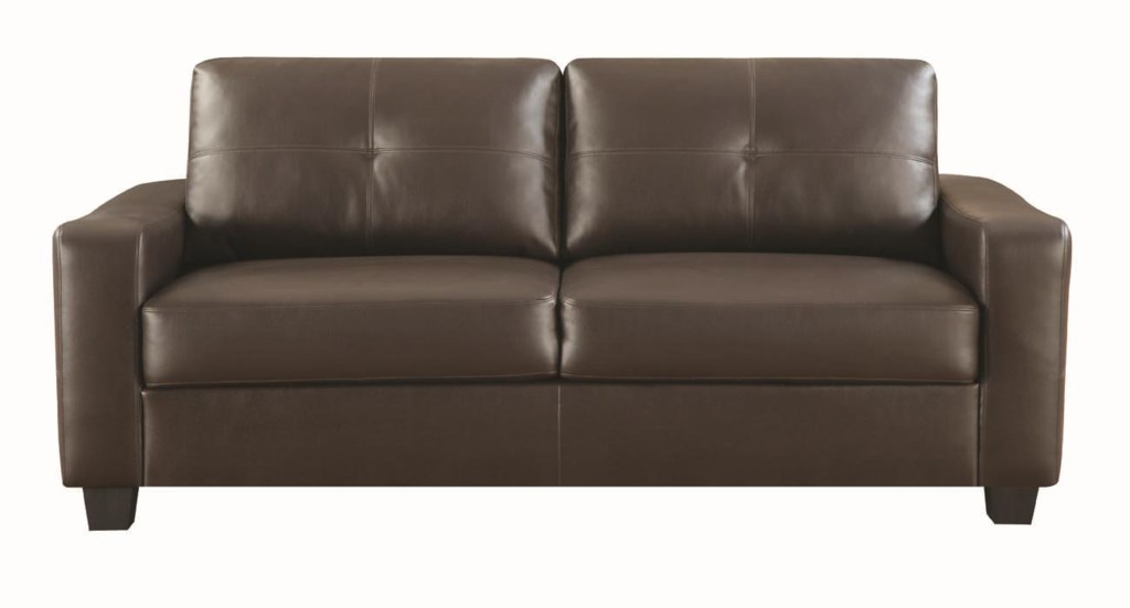 Coaster Jasmine Bonded Leather Sofa Value City Furniture Sofa