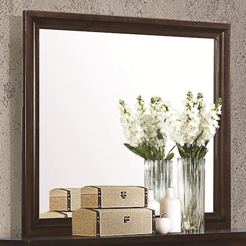 Coaster Jaxson Rectangular Mirror with Wooden Frame