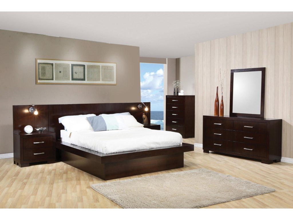 Coaster jessicacal king bedroom group