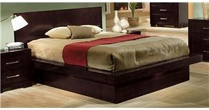 Coaster Jessica California King Pier Bed with Rail Seating and Lights