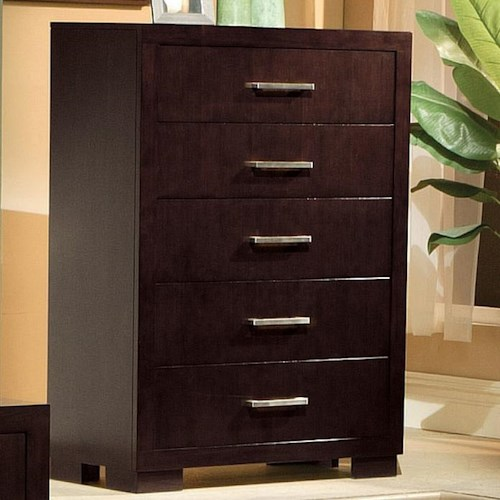 Coaster Jessica 5 Drawer Chest