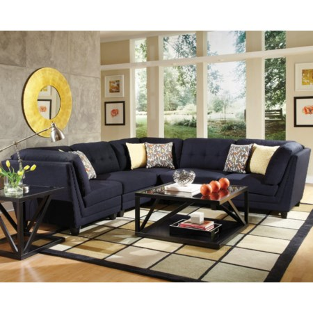 5 Piece Sectional Sofa