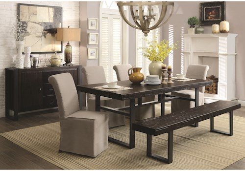 casual dining rooms. Coaster Keller Casual Dining Room Group  Rooms For Less