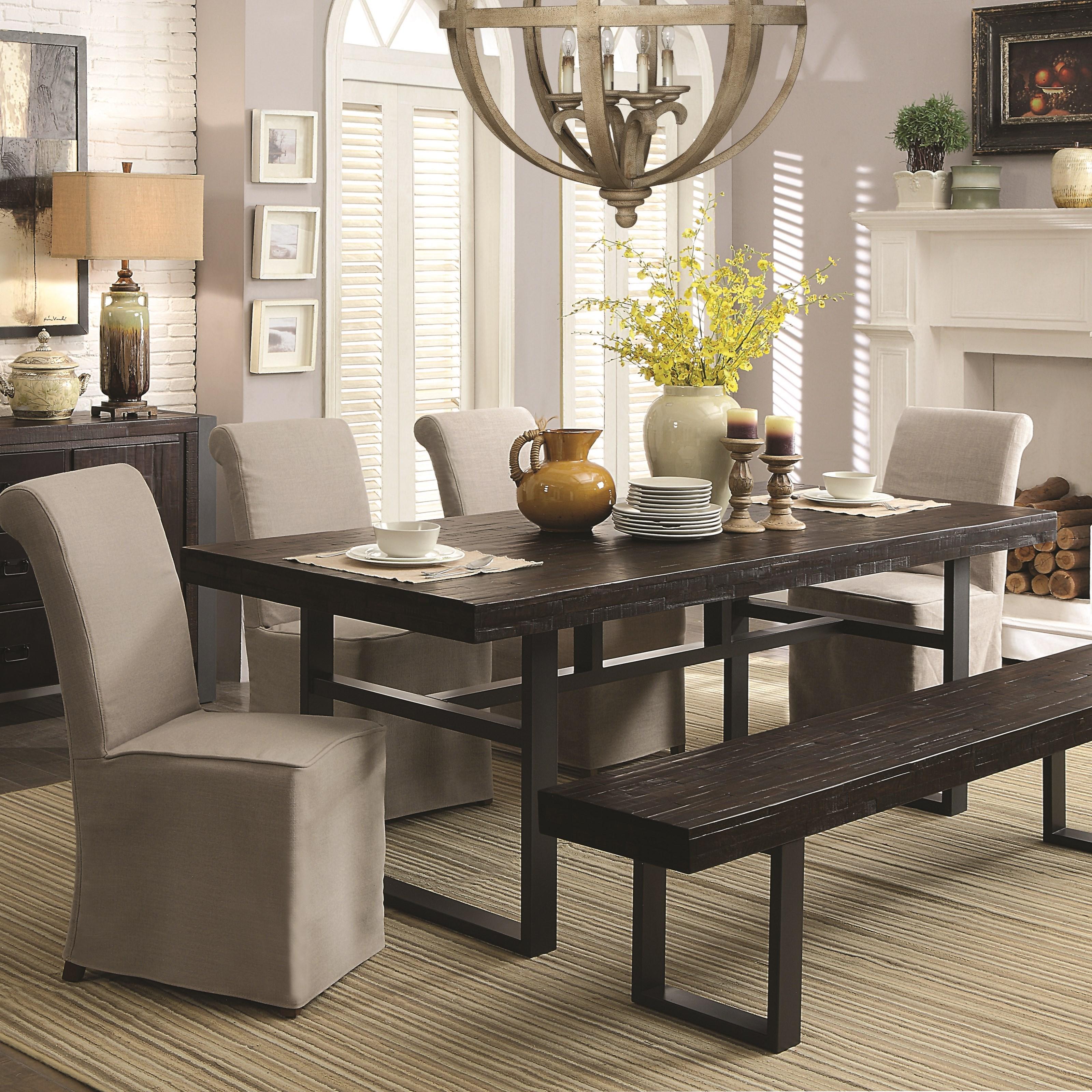 Coaster Keller6 Piece Dining Set with Bench