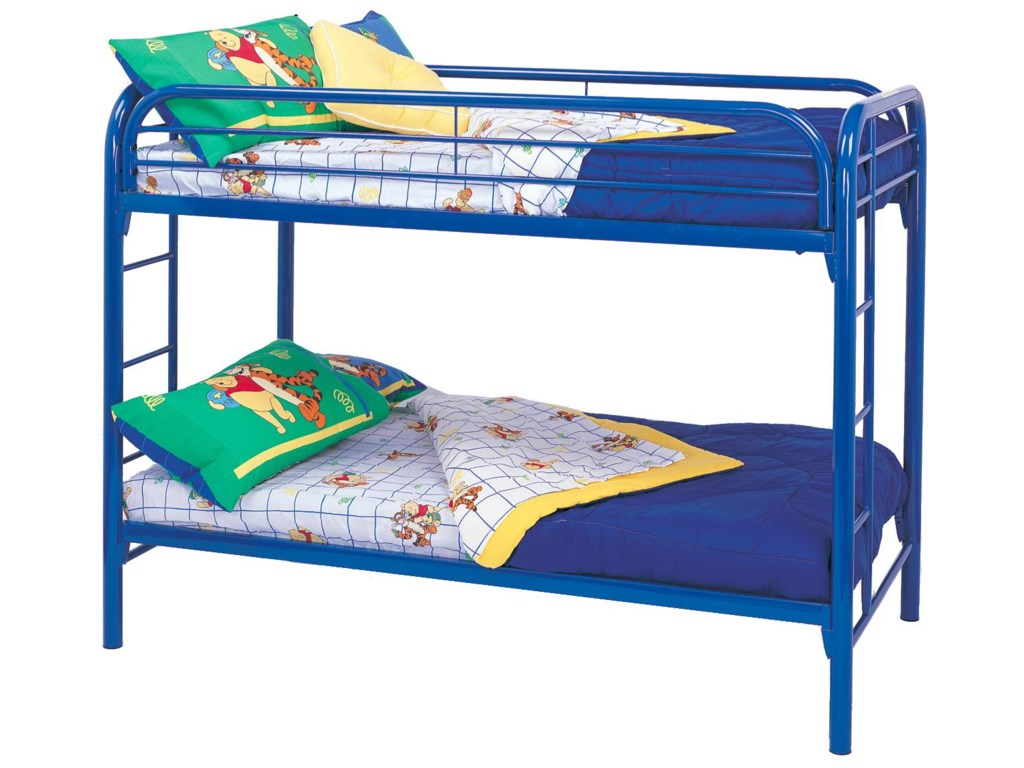 Coaster Metal BedsTwin Bunk Bed