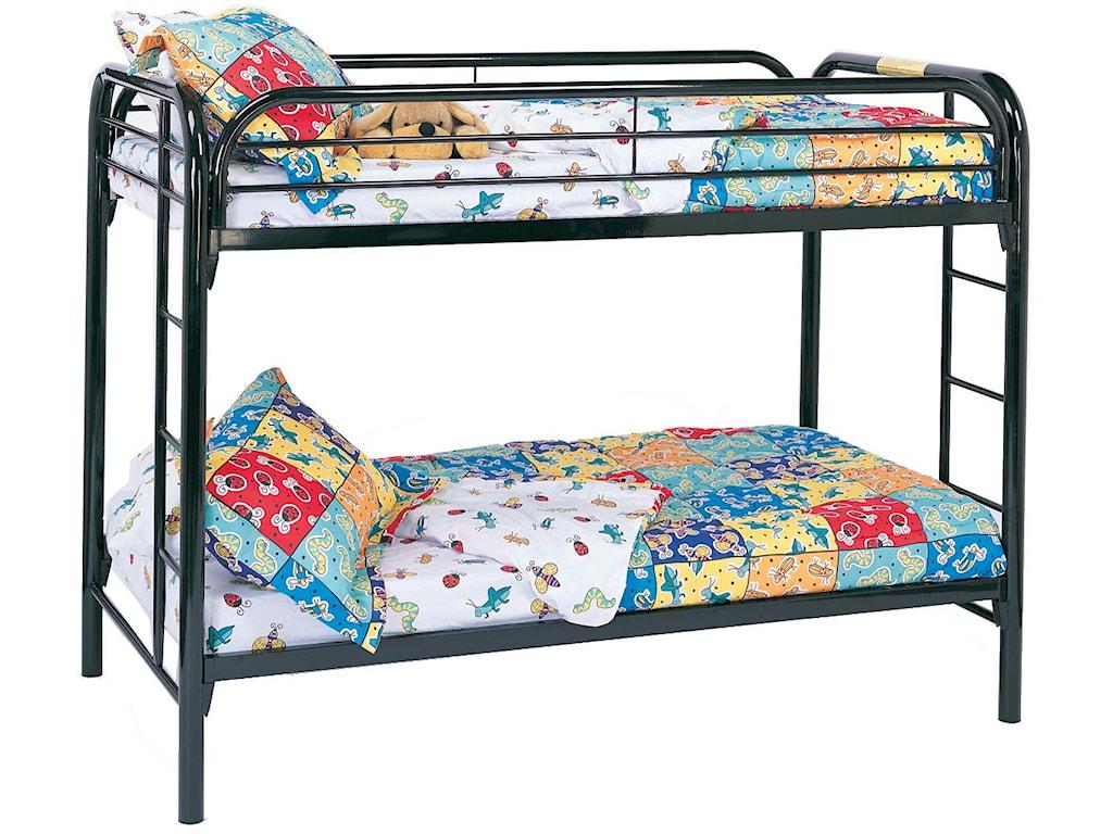 Coaster Metal BedsTwin Bunk Bed
