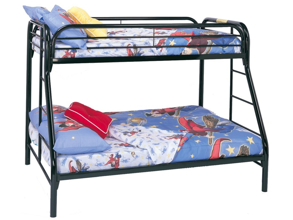 Coaster Metal BedsTwin Over Full Bunk Bed