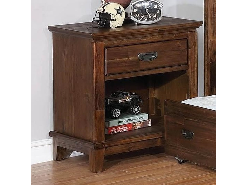 Home bedroom furniture night stands coaster kinsley nightstand coaster kinsleynightstand coaster kinsleynightstand