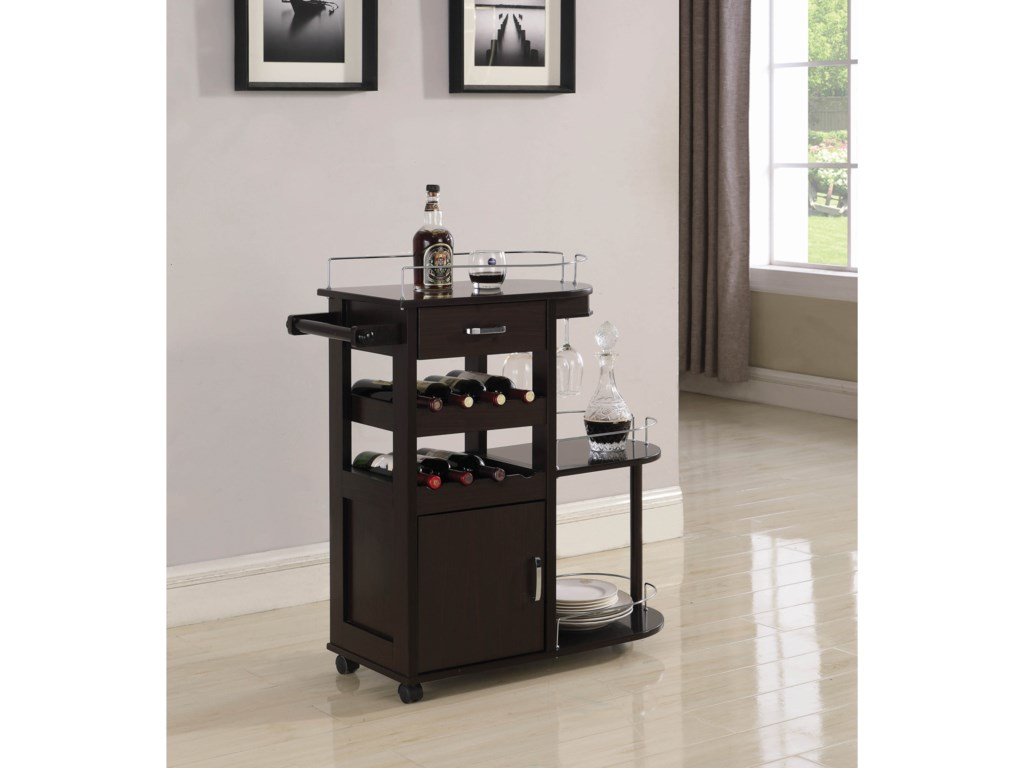 Coaster Kitchen CartsServing Cart