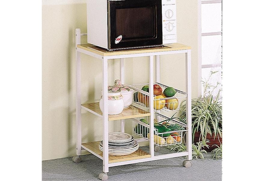 Kitchen Carts Microwave Cart