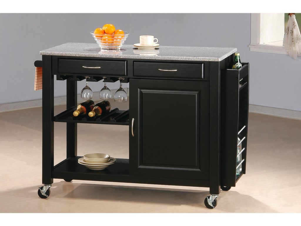 Coaster Kitchen CartsKitchen Cart