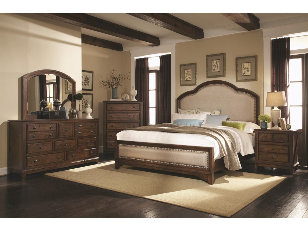 Coaster LaughtonKing Upholstered Bed