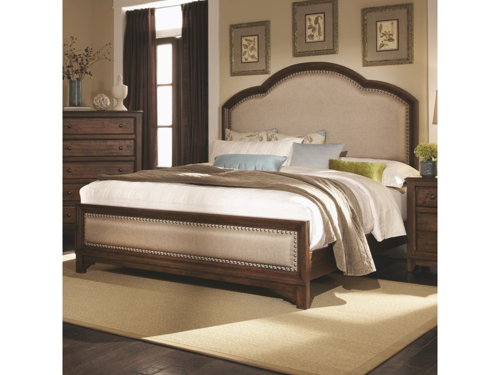 Coaster LaughtonQueen Upholstered Bed