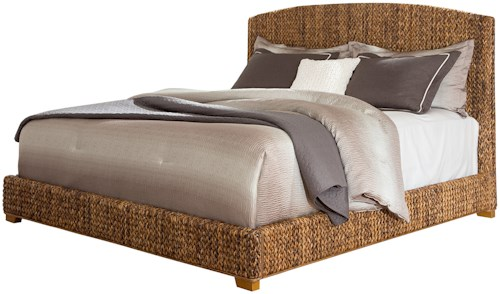 Coaster Laughton Woven Banana Leaf King Bed