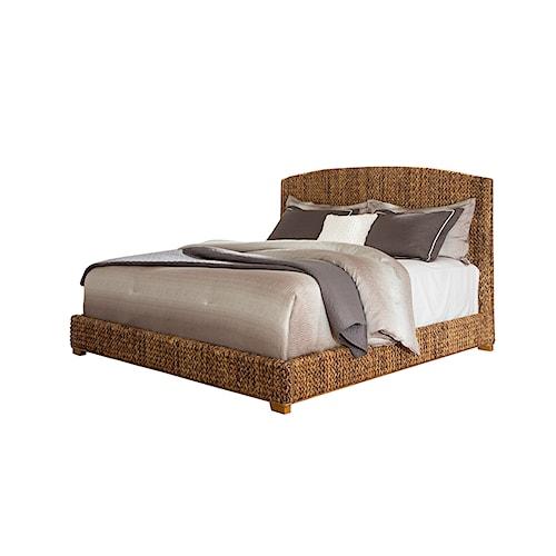 Coaster Laughton Woven Banana Leaf Queen Bed