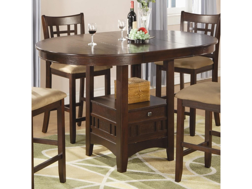 Coaster LavonCounter Height Table
