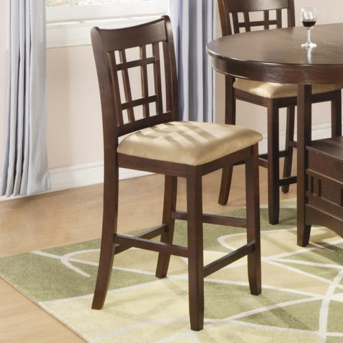Coaster Lavon 100889n 24 Inch Bar Stool Northeast Factory Direct