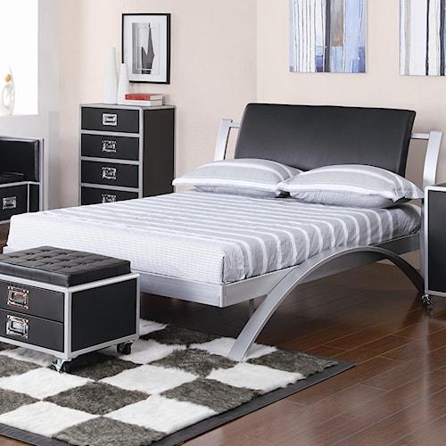 Coaster LeClair Twin Metal Platform Bed