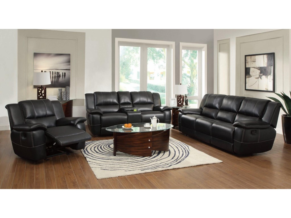 Shown with Double Reclining Gliding Loveseat and Glider Recliner