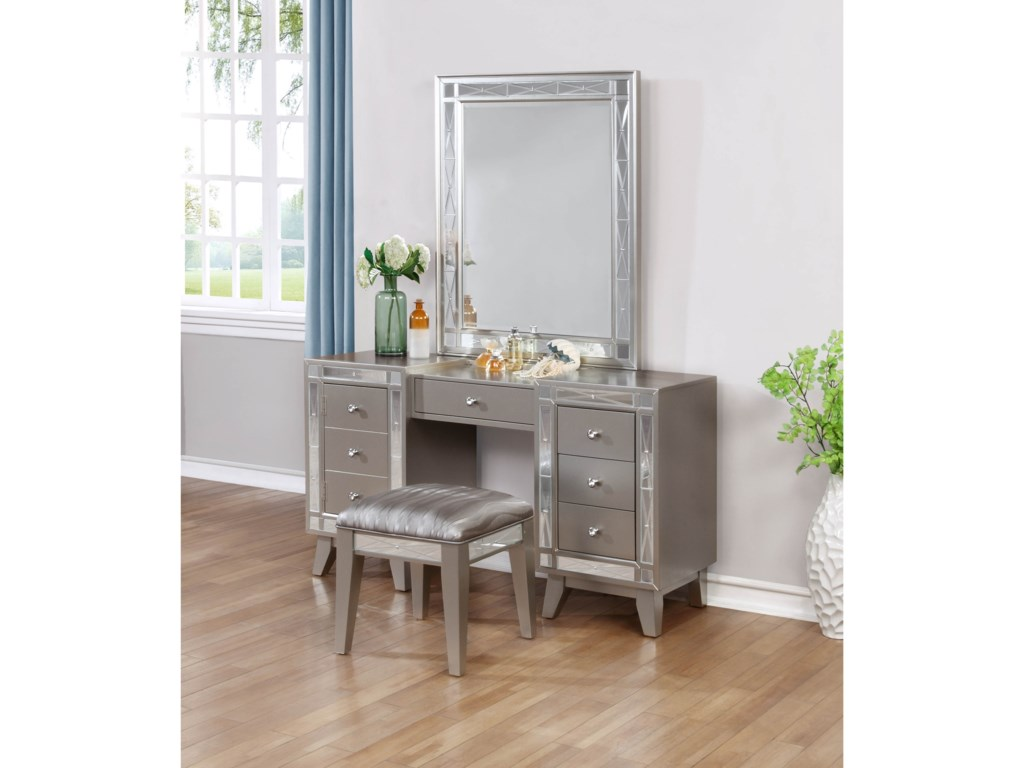 Rooms Collection Two LeightonVanity Desk & Stool
