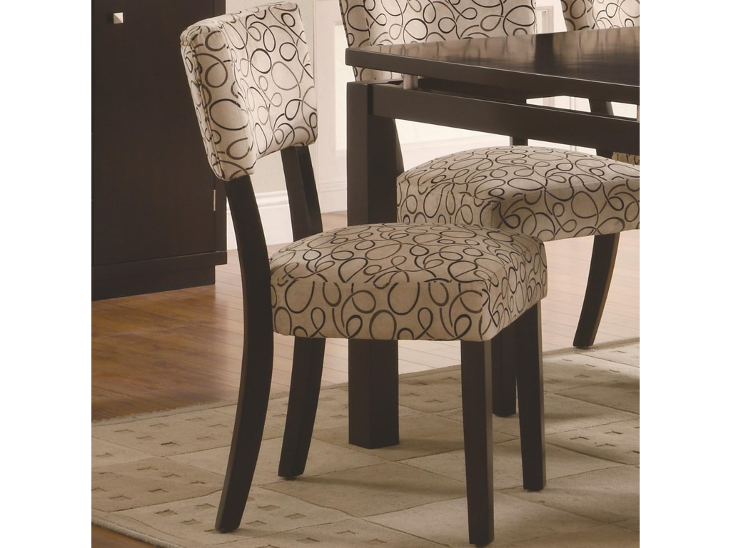 Stylish Upholstered Dining Side Chair