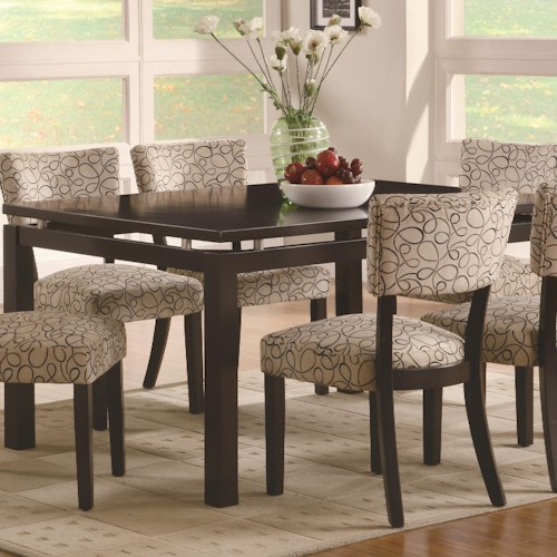 Coaster Libby Rectangular Dining Table with Floating Top | A1 ...