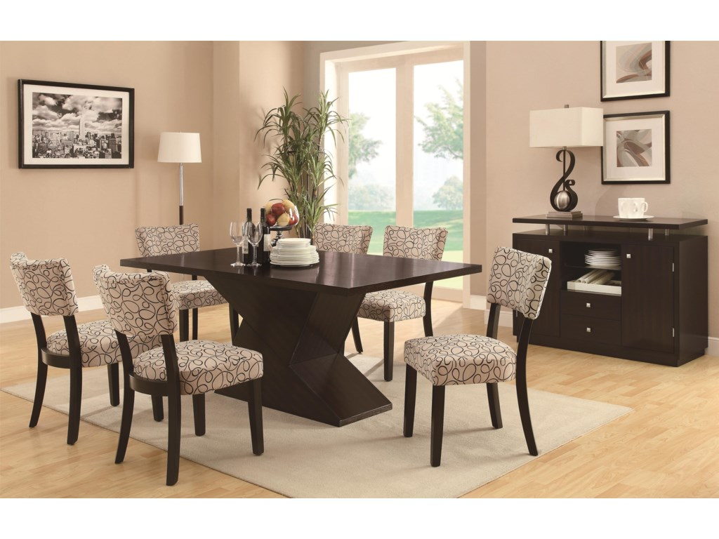 Shown with Hourglass Dining Table