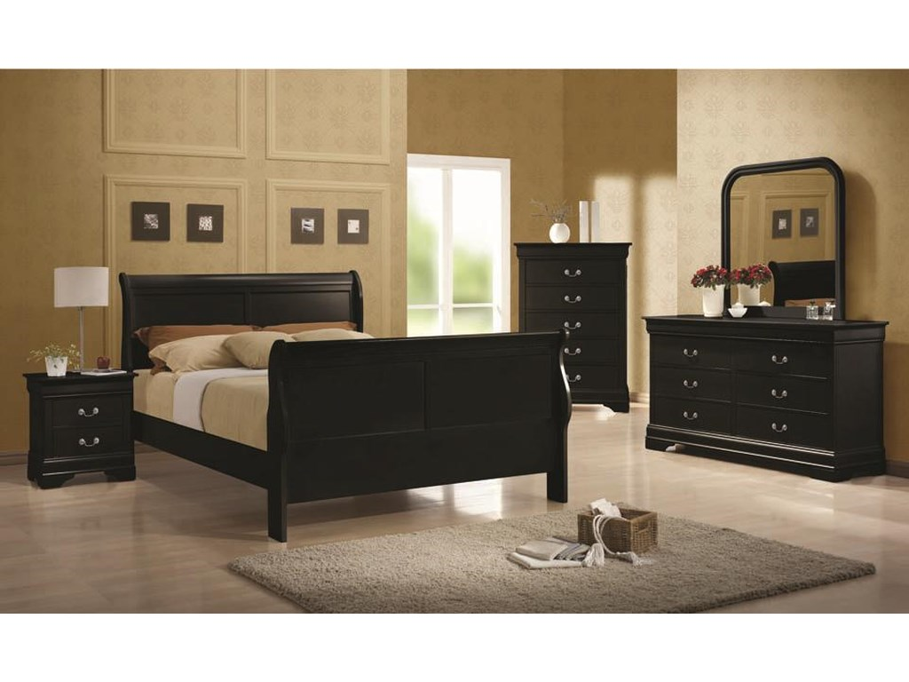 (Up to 50% OFF sale price) Collection # 2 Louis PhilippeQueen Sleigh Bed