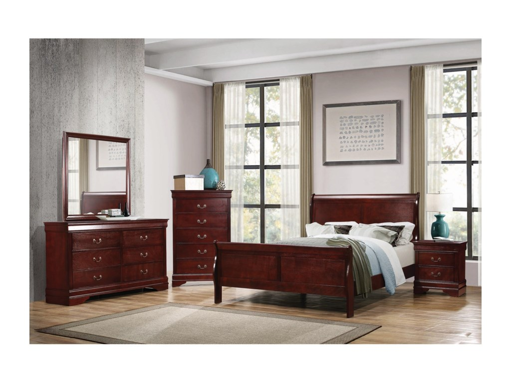 Coaster Louis PhilippeTwin Bed