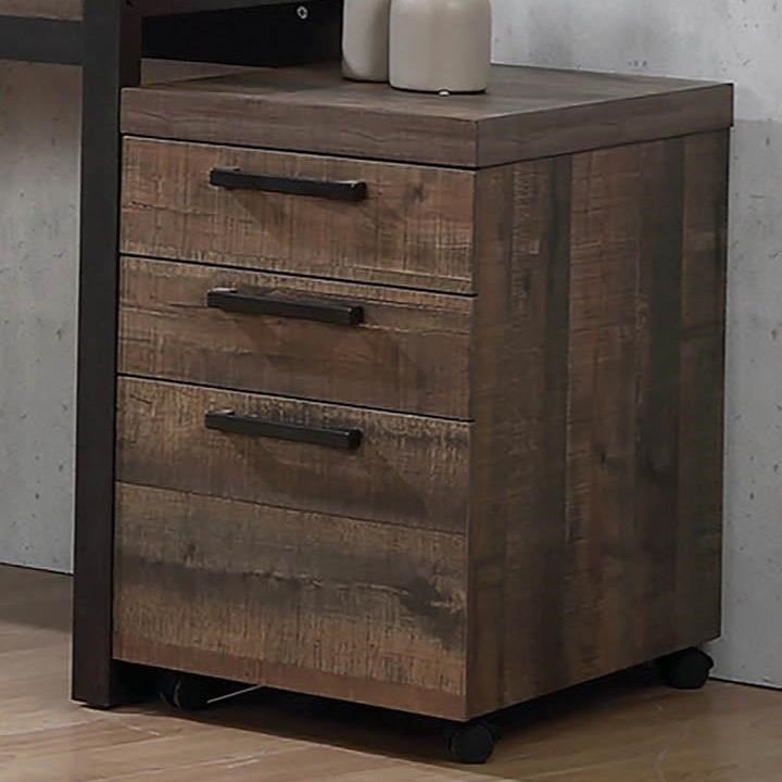 Luke 80208 contemporary mobile storage cabinet by coaster