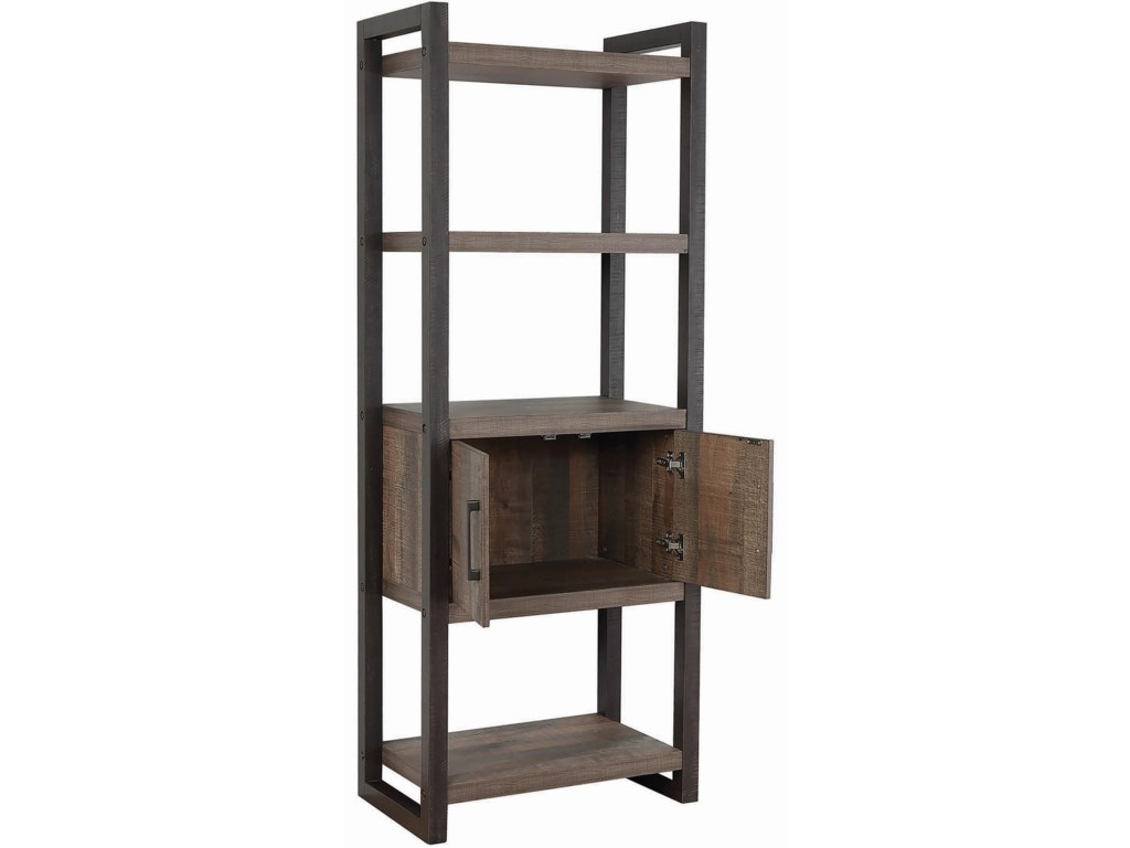Coaster Luke 80208Bookcase with Storage