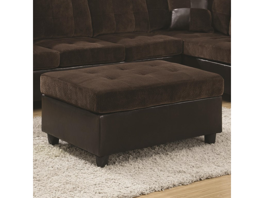 Rooms Collection Two Mallory Ottoman