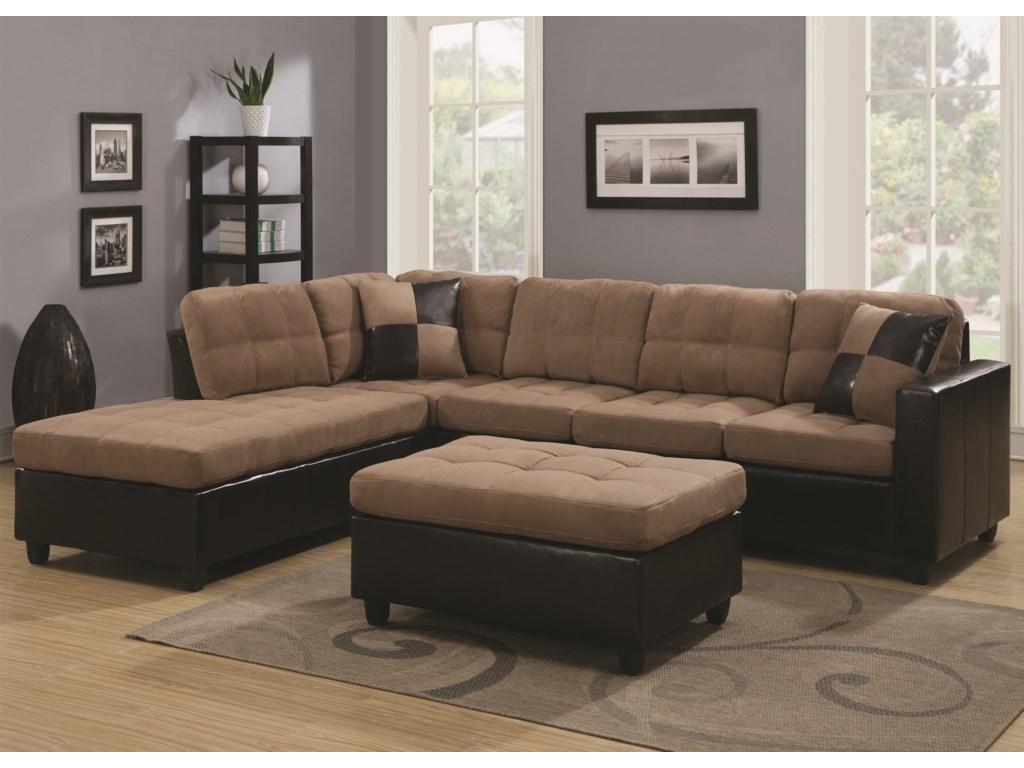 Coaster MallorySectional