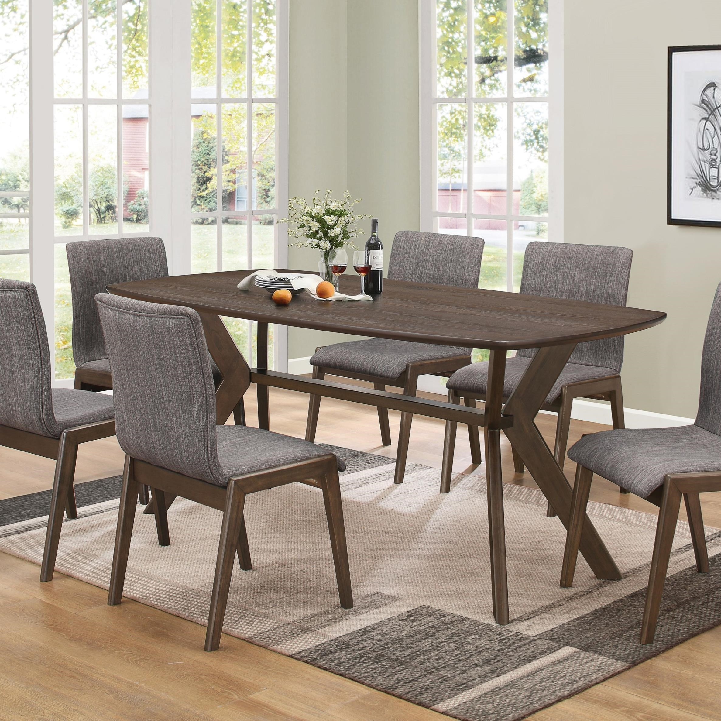 coaster mcbride 107191 retro dining room table dunk bright rh dunkandbright com coaster kitchen table sets coaster furniture kitchen table and chairs