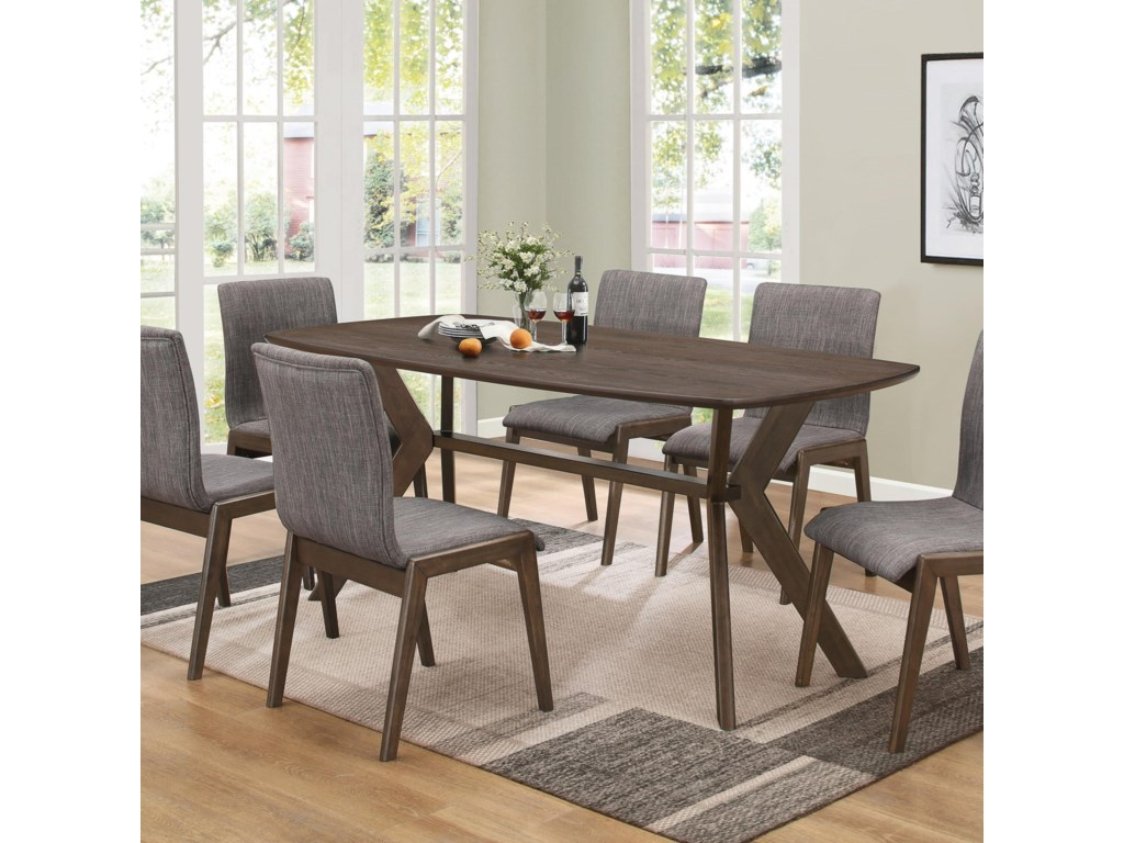 Coaster McBride Retro Dining Room Table | Value City Furniture ...