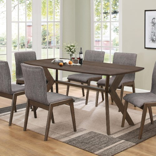 Coaster McBride Retro Dining Room Table