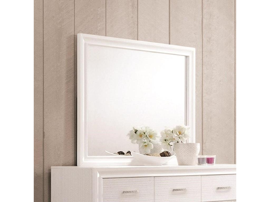 Coaster MirandaMirror with Wood Frame