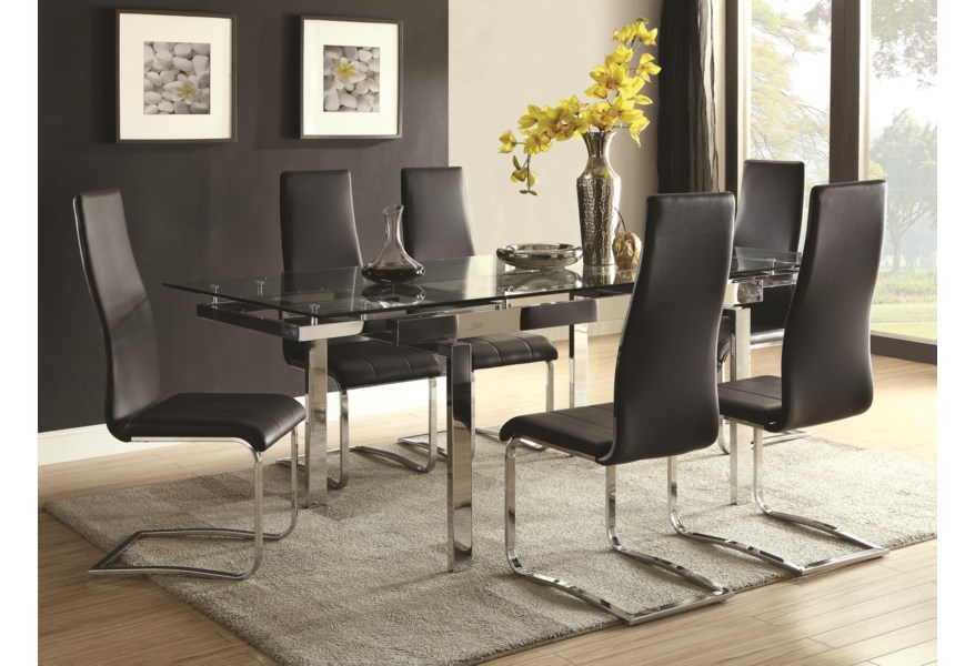 Modern Dining Contemporary Room Set
