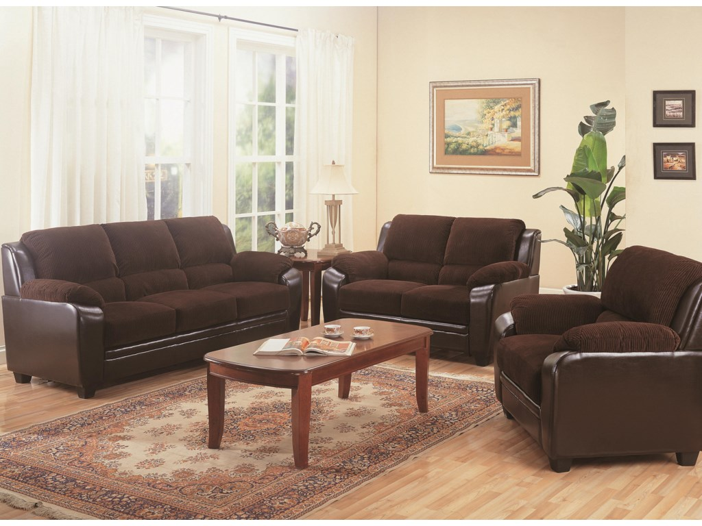 Shown with Loveseat and Chair