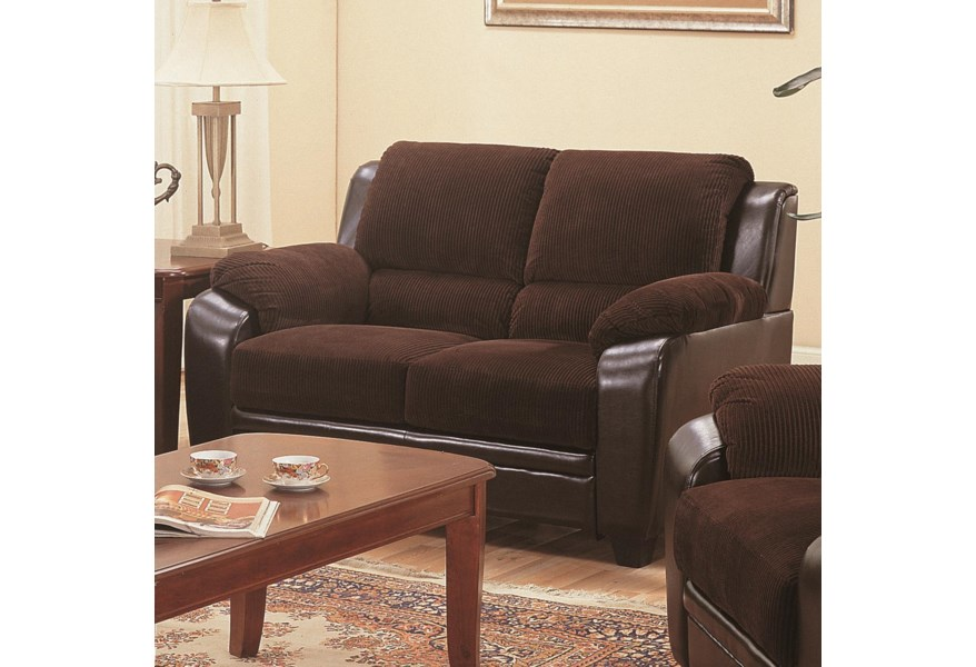 Terrific Monika Stationary Loveseat Short Links Chair Design For Home Short Linksinfo