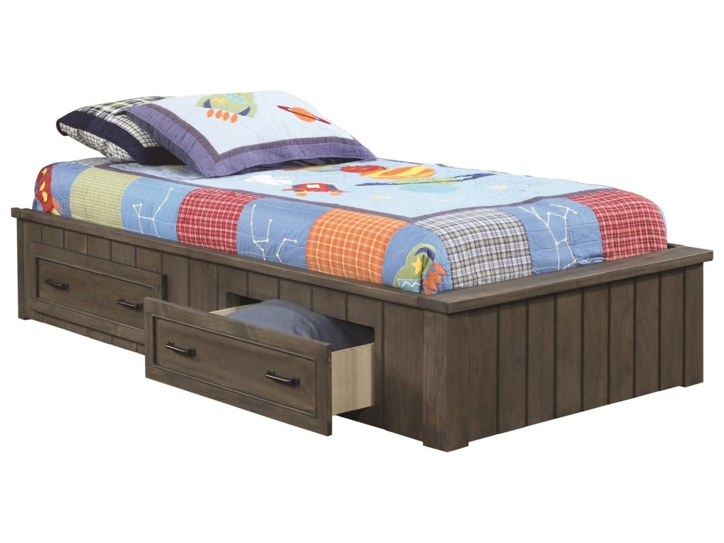 Coaster Napoleon 400931f Full Platform Bed With Storage Drawers