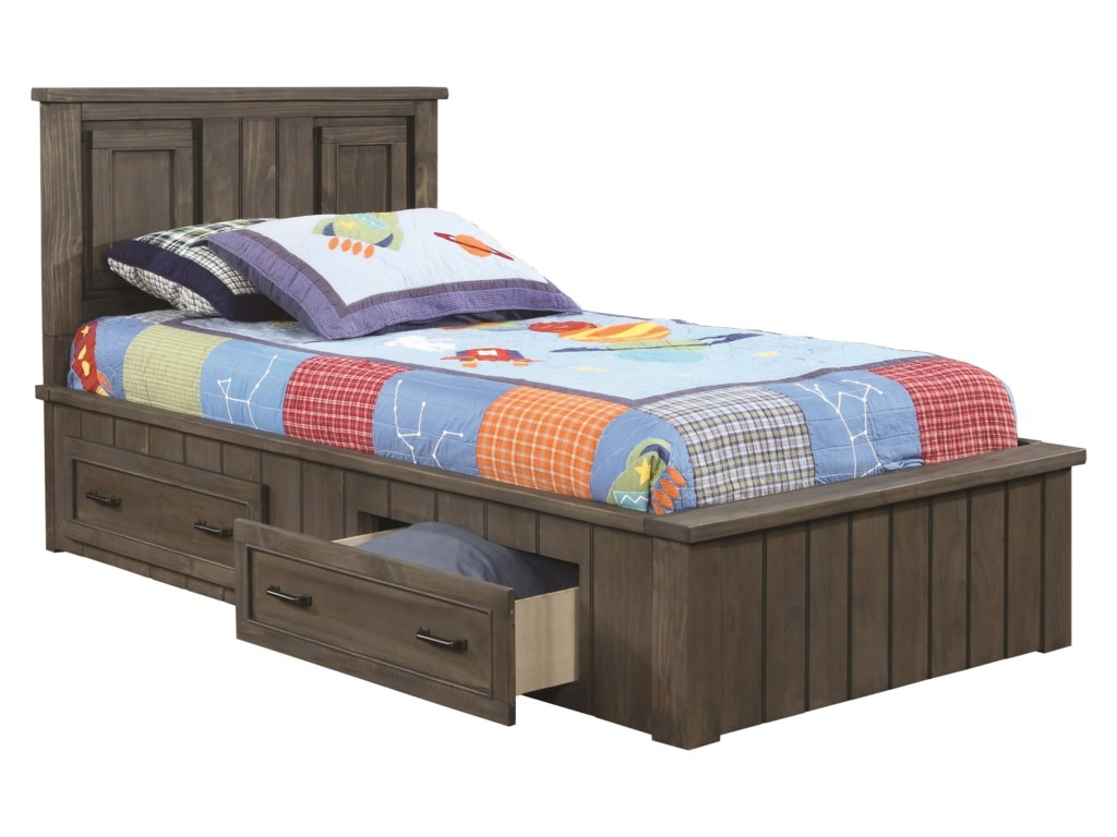 Coaster NapoleonTwin Storage Bed